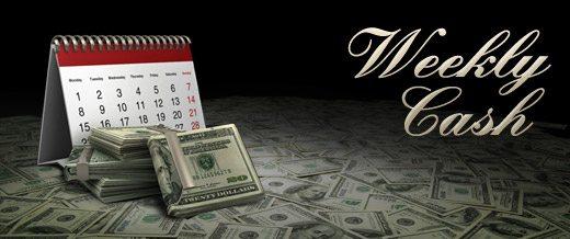 еженедельный кеш на титан покер
