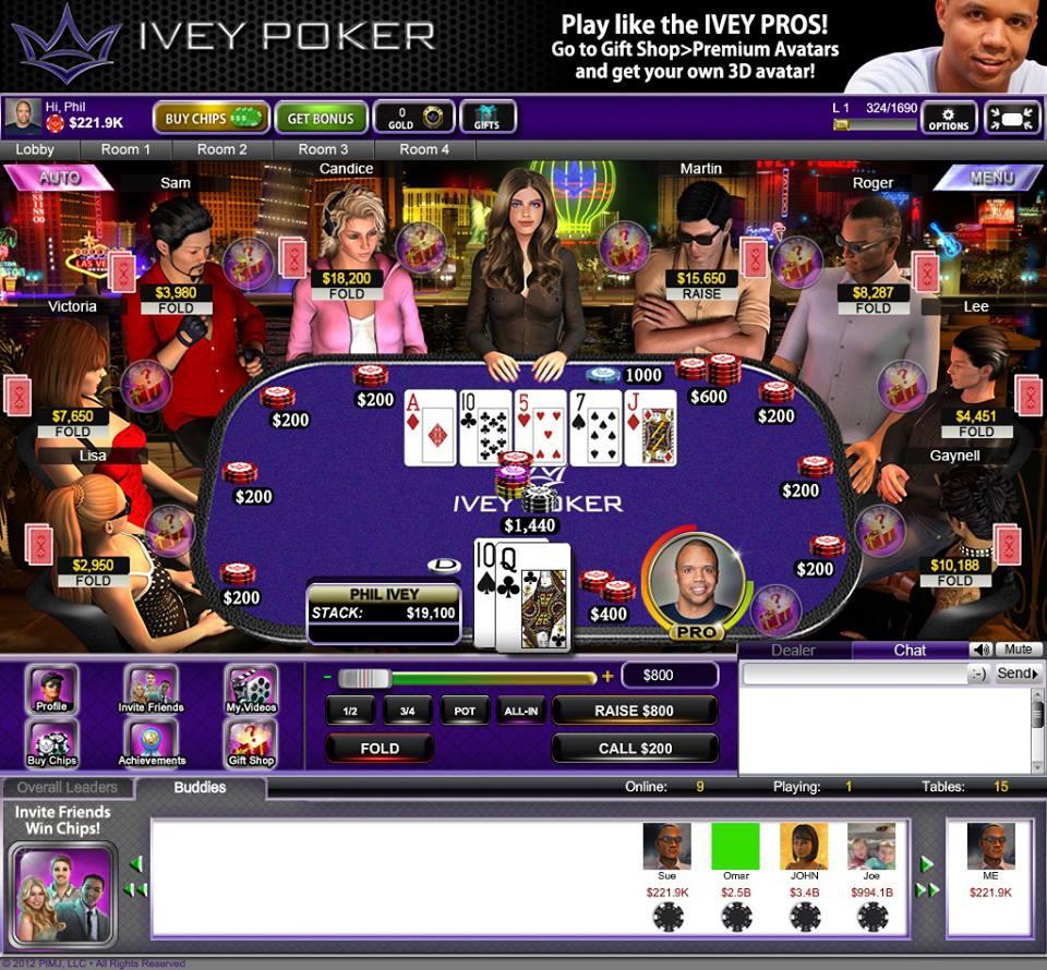 ivey poker facebook