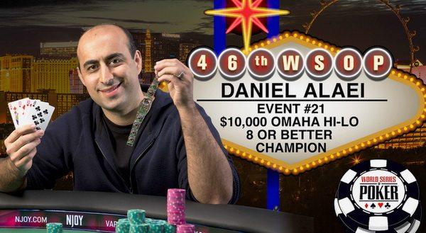 Daniel Alaei WSOP