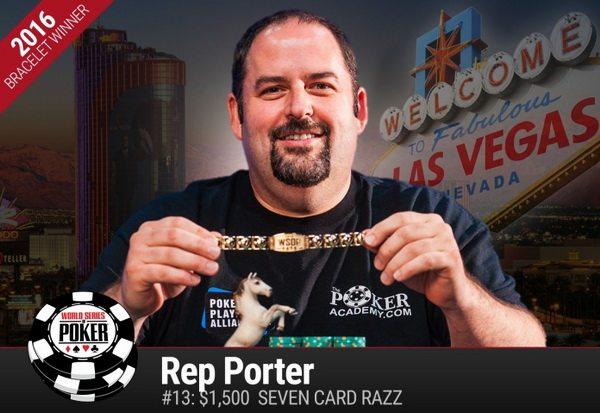 Реп Портер выиграл третий браслет WSOP