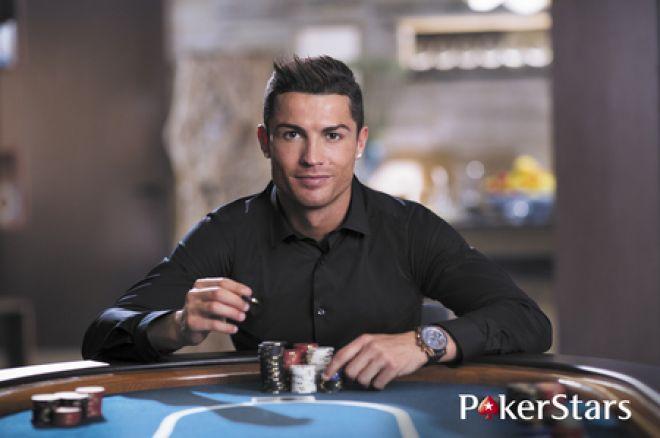 Криштиану Роналду торжественно принят в команду PokerStars