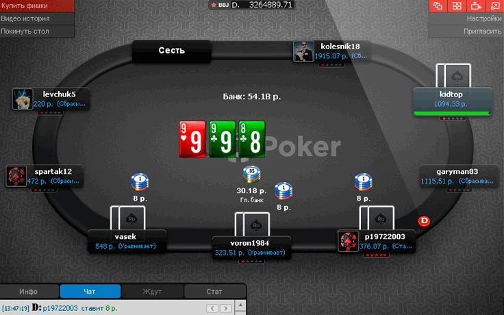 покер играть на деньги рубли