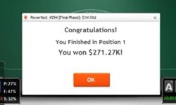 Дуг Полк выиграл $271 272 на PartyPoker, транслируя происходящее на YouTube