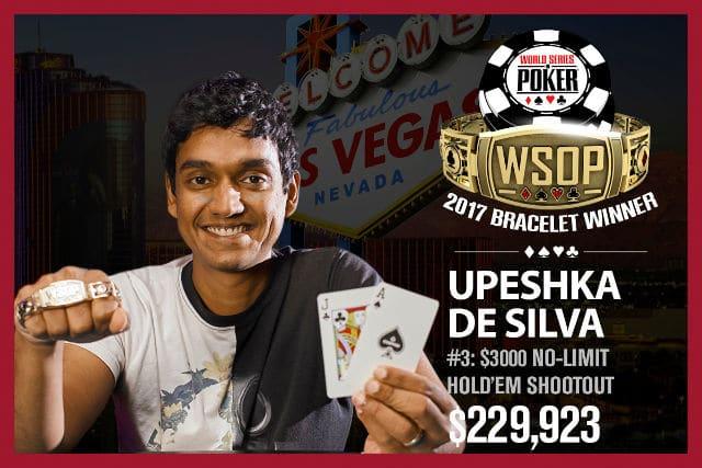 Упешка Де Сильва WSOP 2017